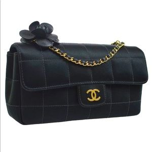 Authentic Chanel Mini Chocolate Bar Quilted Bag